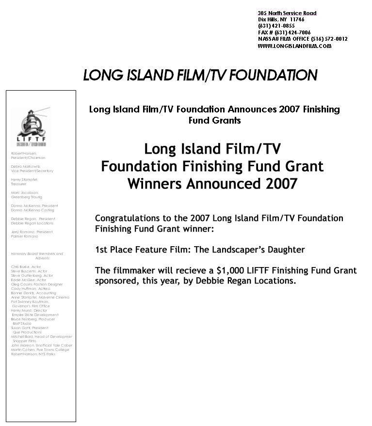 filmmaker grant film movie location scout television commercials new york nj ct ny nyc